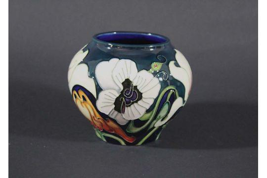 Moorcroft Vase A Modern Moorcroft Vase In The Miss Alice Design