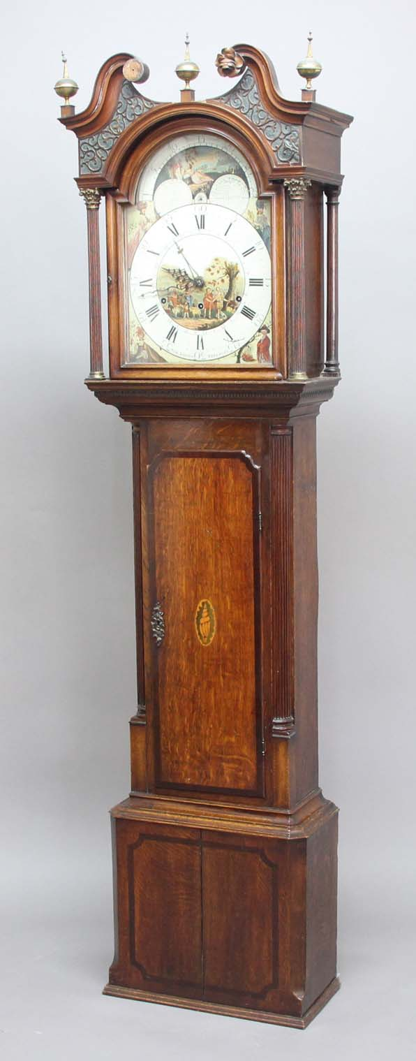 Dating longcase clock dials metal
