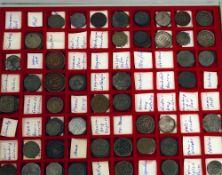 Notmünzen in Münzbox.über 40 verschiedene Städte. Einige mehrfach. Dabei z.B. Guben, Hagen, Halle,