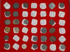 Notmünzen in Münzbox. 46 Stück. Dabei z.B..Sinsheim, Sinzig, Solingen, Spremberg, Sprottlau,