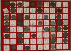 Notmünzen in Münzbox.Über 60 Stück. Dabei z.B. Kaiserslautern, Kempen, Kirn, Königsberg,