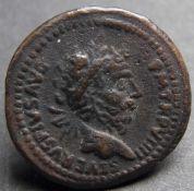 Römische Kaiserzeit, Septimus Severus (193-211 n. Chr.), Revers: Julia Domna zwischen ihren Söhnen