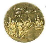 """999er Gold Medaille """"Besuch aus Moskau 1973"""", Gewicht ca. 3g"""