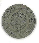 Kaiserreich, 20 Pfennig 1888 A. Zustand ss-vzbitte besichtigen. Katalog Nr. Jäger 006