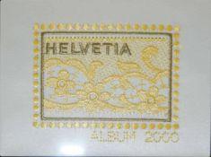 Briefmarken Jahrbuch Schweiz der PTT. Jahr 2000 mit allen Ausgaben. gestempelt