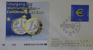 75 FDC BRD ab 2002 75 FDC Germany from 2002