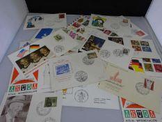 Konvolut Sonderpostkarten, etc. Insgesamt 18 Stück. Bitte besichtigen !Convolute special