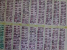 Konvolut Briefmarken und Postkarten in großem Karton. Bitte besichtigenMixed lot of stamps and