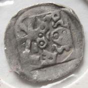 Amberg um 1366, Langer Pfennig, Oberpfalz, Pfalzgraf Ruprecht I. (reg. 1353-1390). Pfennig auf