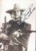 Autogramm - Post- Karte Clint Eastwood. Original Signatur.Autograph Post - Card Clint Estwood.