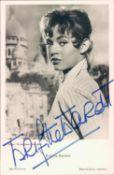 Autogramm - Post - Karte Brigitte Bardot. Original Signatur.Autograph Post Card Brigitte Bardot.