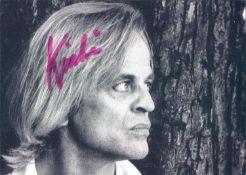 Autogramm - Post - Karte Klaus Kinski. Original Signatur.Autograph - Post Card Klaus Kinski.
