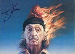 Autogramm - Foto - Karte Salvatore Dali. Original Signatur.Autograph - Foto - Card Salvatore Dali.