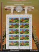 Sammlung Numisblätter, Nummern: 1/2003, 2/2003, 3/2003, 5/2003, 6/2003, 1/2002, 2/2002, 3/02, 4/