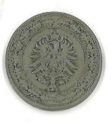 Kaiserreich, 20 Pfennig 1888 A. Zustand ss-vzbitte besichtigen. Katalog Nr. Jäger 006Empire, 20