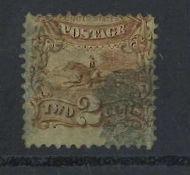 USA, Michel Nr. 27, Katalogpreis: 70 Euro, gestempeltUSA, Michel No. 27, catalog price: 70 Euro,
