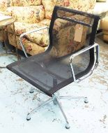 Lot 48 - VITRA ALUMINIUM GROUP DESK CHAIR, by Charles and Ray Eames, 58cm W.