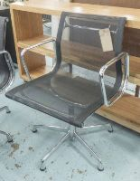Lot 50 - VITRA ALUMINIUM GROUP DESK CHAIR, by Charles and Ray Eames, 58cm W.