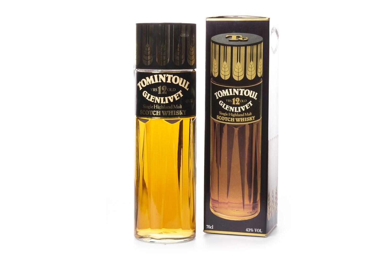 Lot 1036 - TOMINTOUL-GLENLIVET 12 YEARS OLD PERFUME BOTTLE