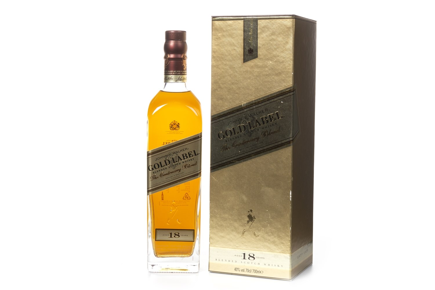 Lot 1041 - JOHNNIE WALKER GOLD LABEL AGED 18 YEARS