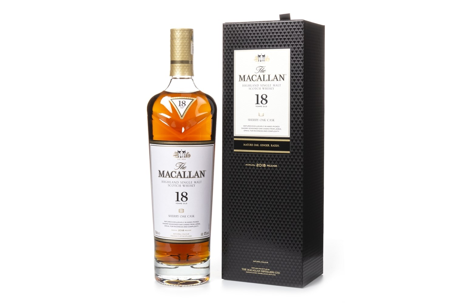 Lot 1008 - MACALLAN 18 YEARS OLD 2018 RELEASE
