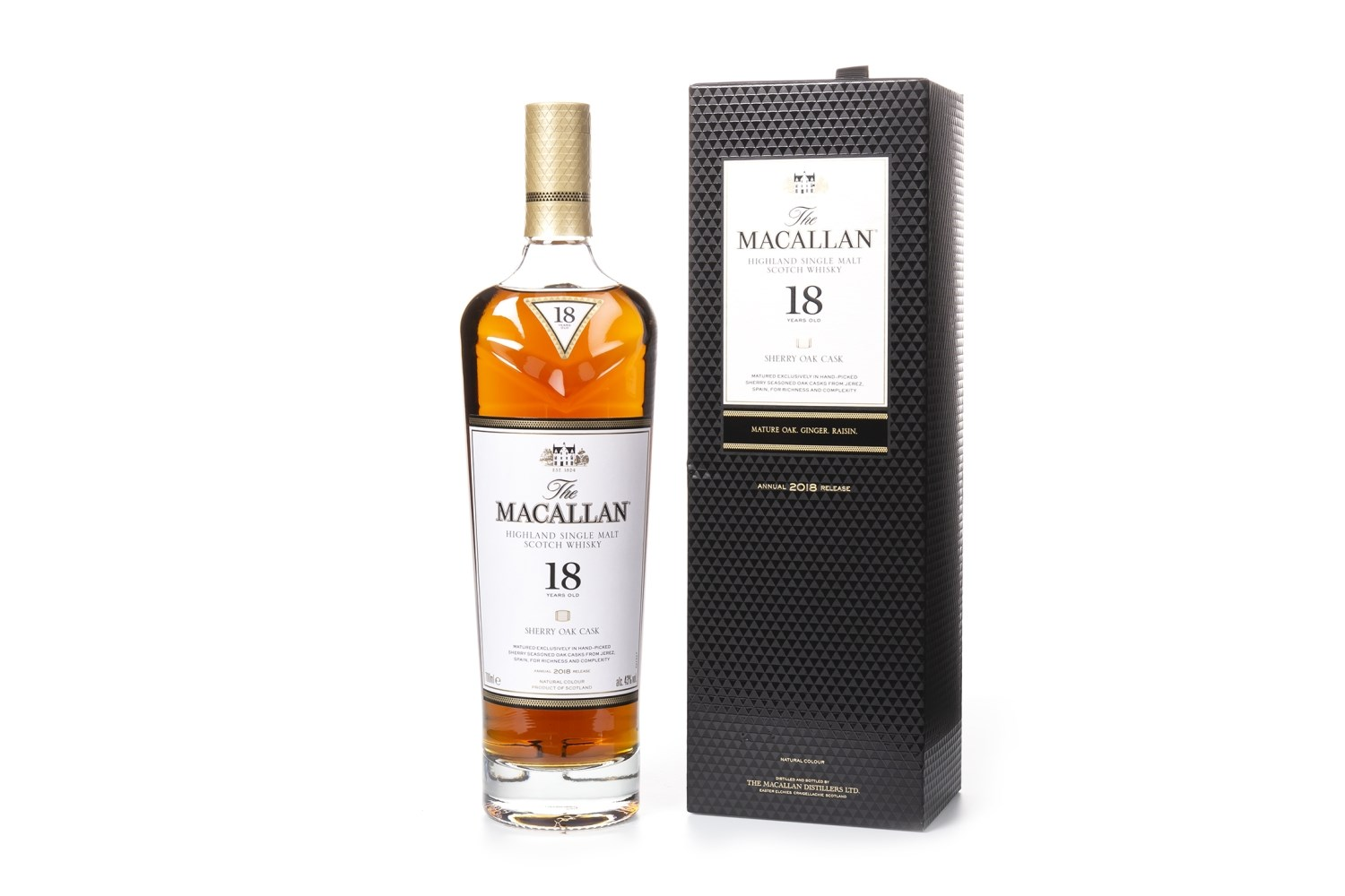 Lot 1016 - MACALLAN 18 YEARS OLD 2018 RELEASE
