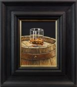 Lot 40 - A SINGLE CASK MALT, AN OIL ON CANVAS BY GRAHAM MCKEAN