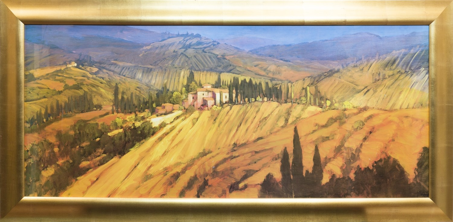 Lot 44 - A TUSCANY VIEW, BY PHILIP CRAIG