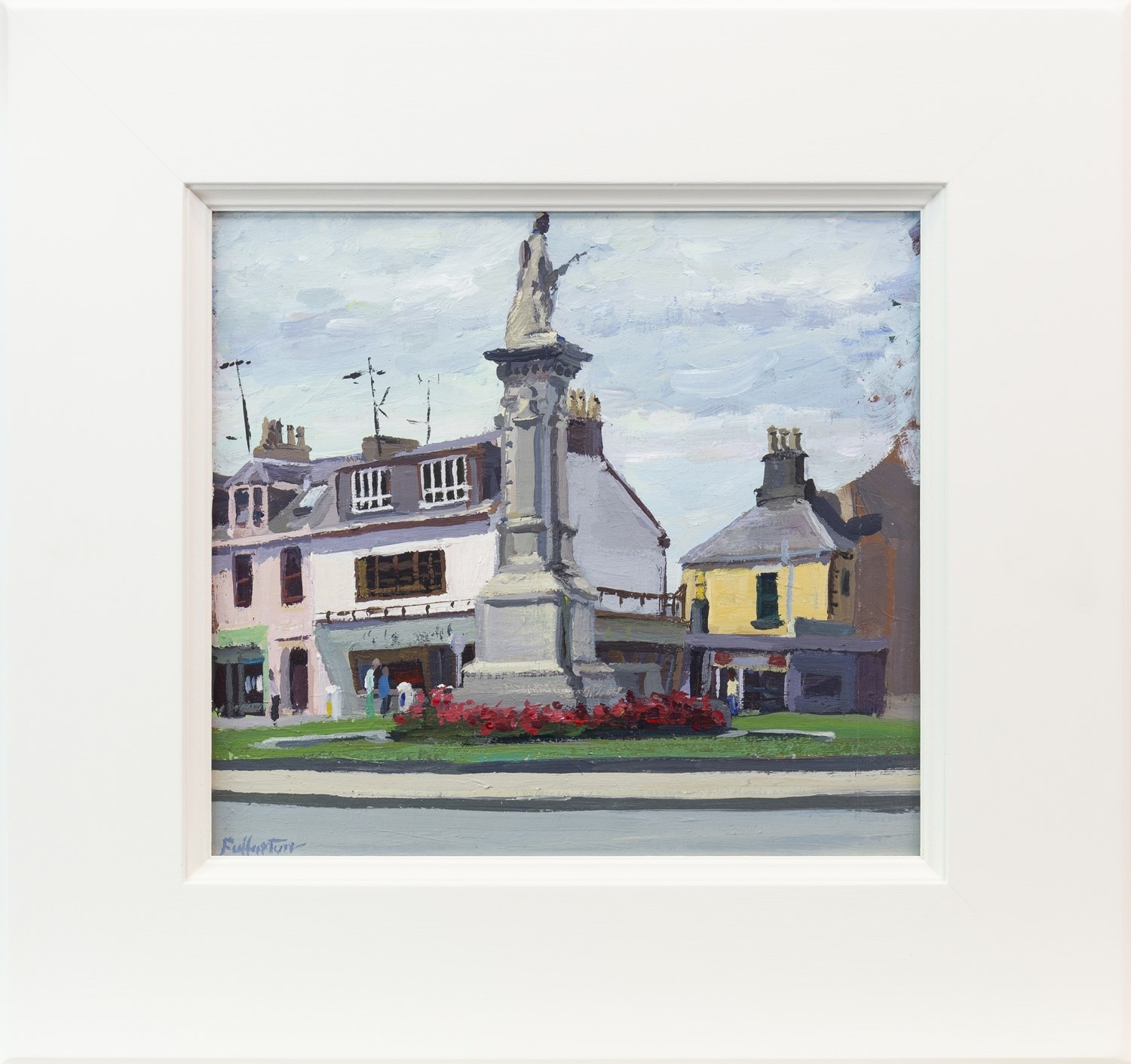Lot 12 - TOWN SQUARE, BY JAMES FULLARTON