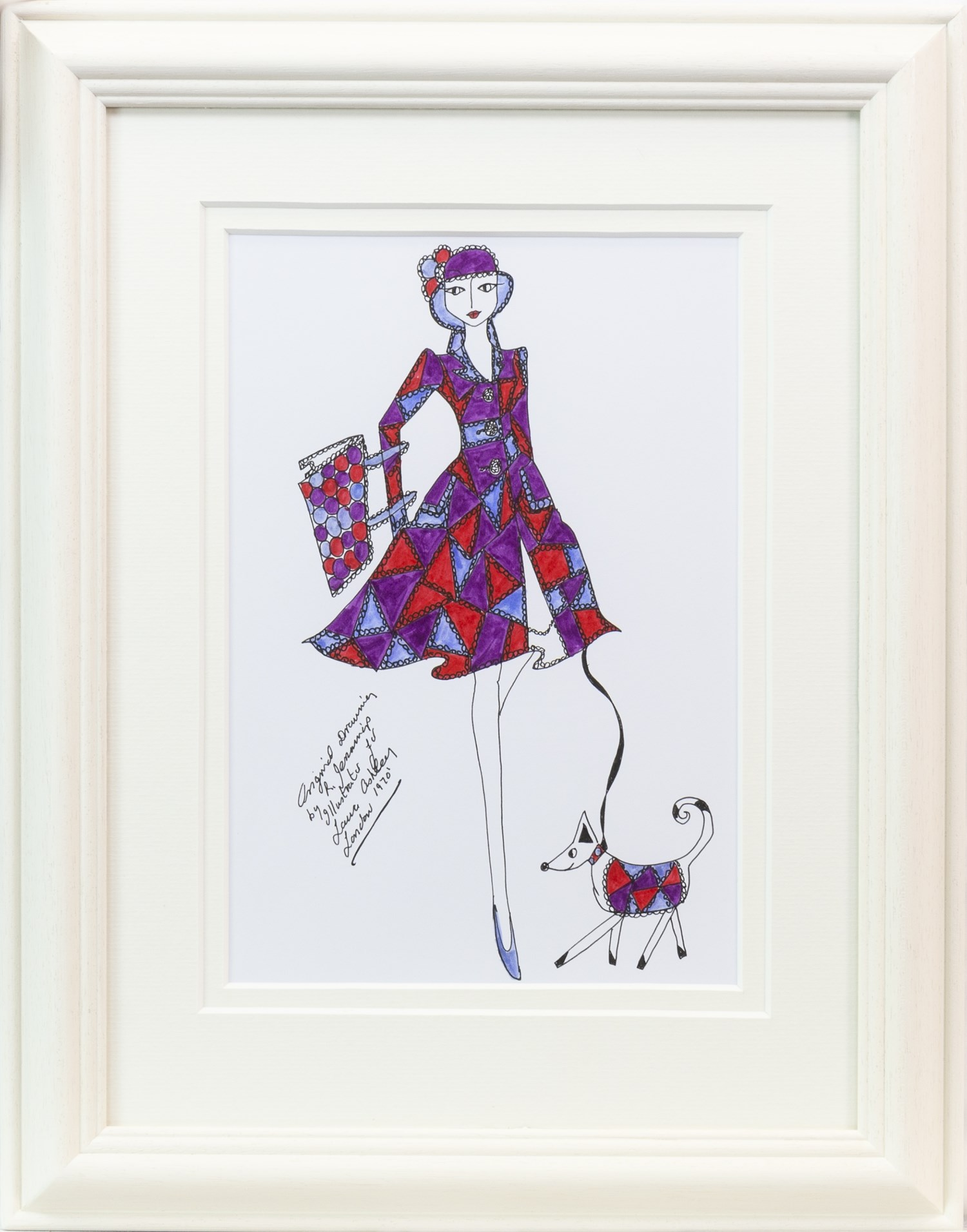 Lot 38 - AN ORIGINAL ILLUSTRATION FOR LAURA ASHLEY, BY ROZ JENNINGS