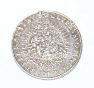 Bayerischer Thaler Max I. 1638, Henkelspuren