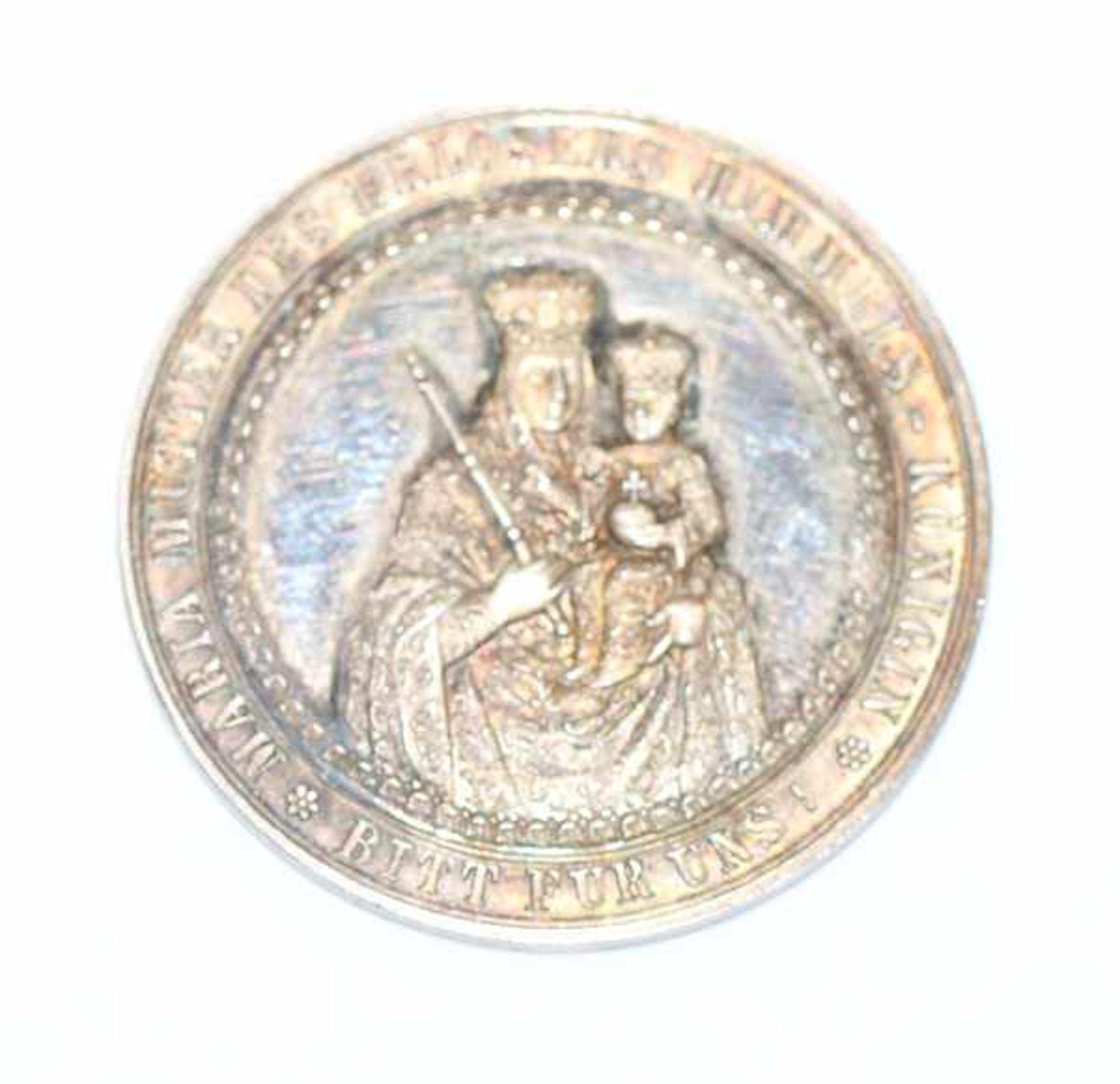 Los 103 - Andenken Medaille zur Taufe, 19. Jahrhundert, Silber, in Originaletui