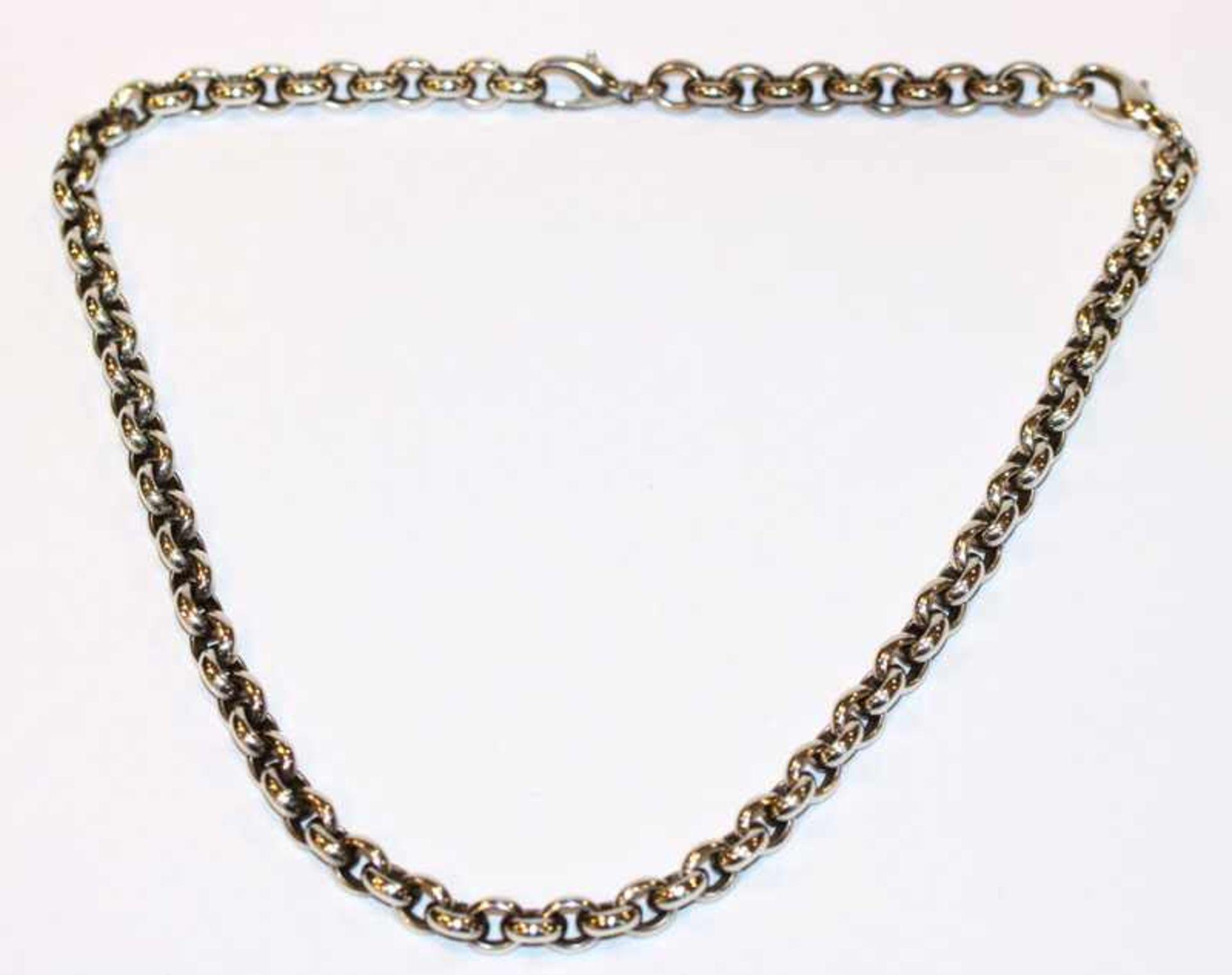 Los 29 - Kette, 925 Silber, 71 gr., L 44 cm