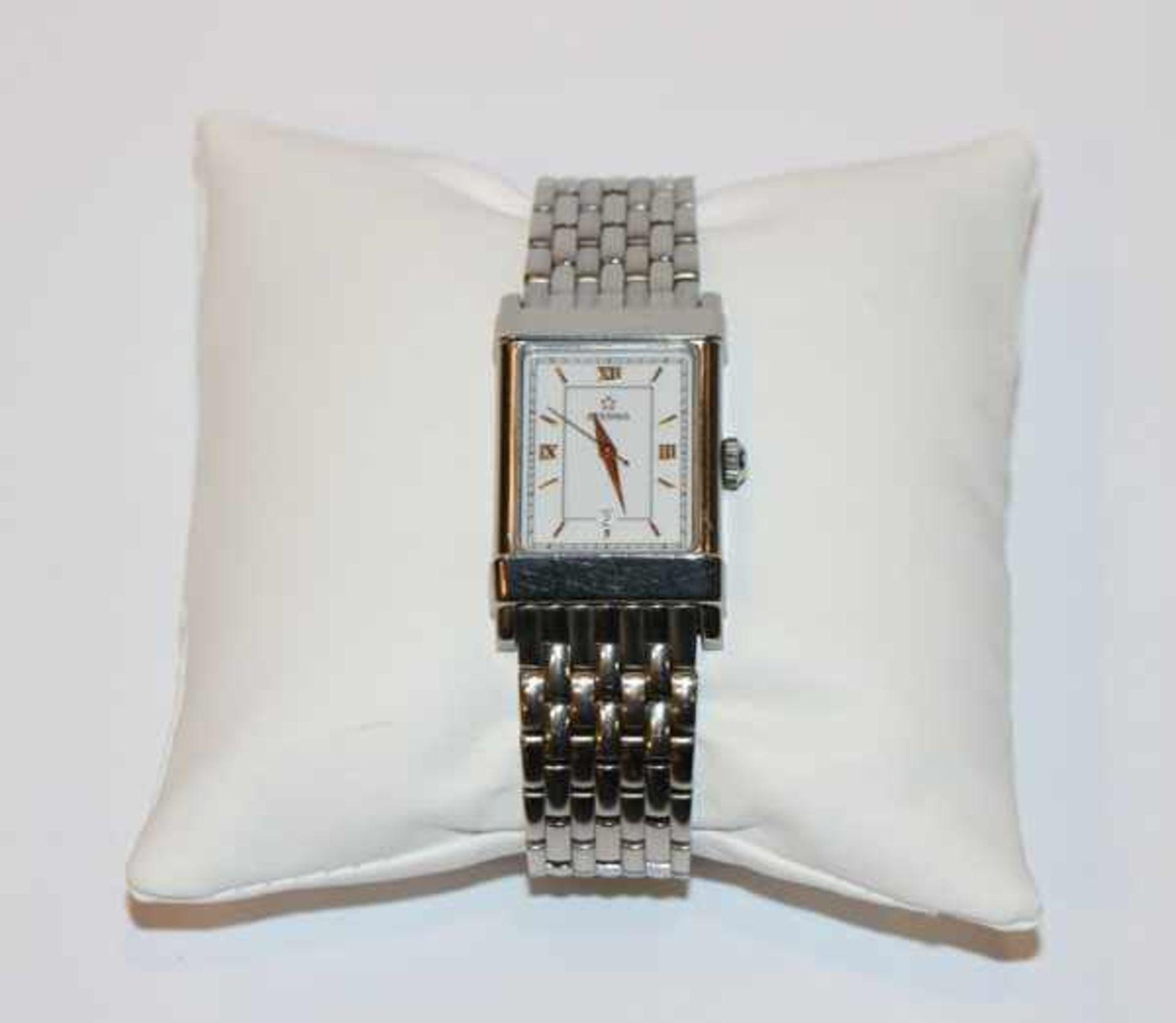 Los 54 - Eterna Damen Armbanduhr, Automatik, Stahl, mit Papieren in Originaletui, Tragespuren