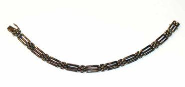 8 k Gelbgold Armband, L 20 cm, 17,4 gr.