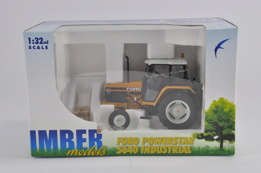 Lot 8 - ROS 1/32 for Imber Models Ford 5640 Powerstar Industrial Tractor. 2WD. M in E Box.