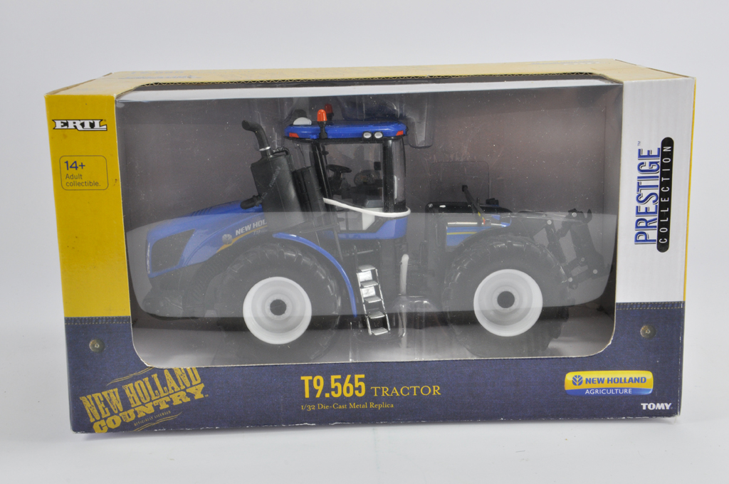 Lot 4 - Ertl 1/32 New Holland T9.565 Tractor. Prestige Edition. M in E Box.