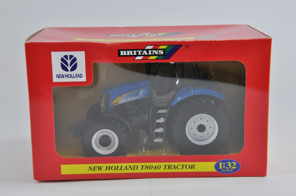 Lot 15 - Britains 1/32 New Holland T8040 Tractor. M in E Box.