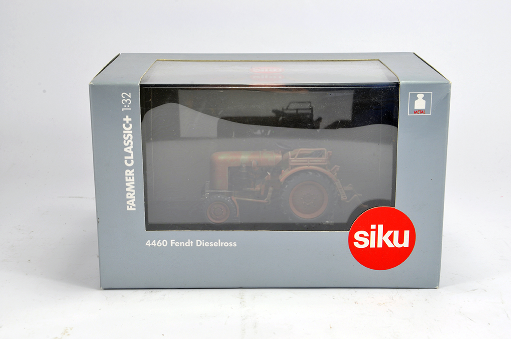 Lot 7 - Siku 1/32 Farmer Plus Fendt Dieselross Tractor (Weathered). M in Box.