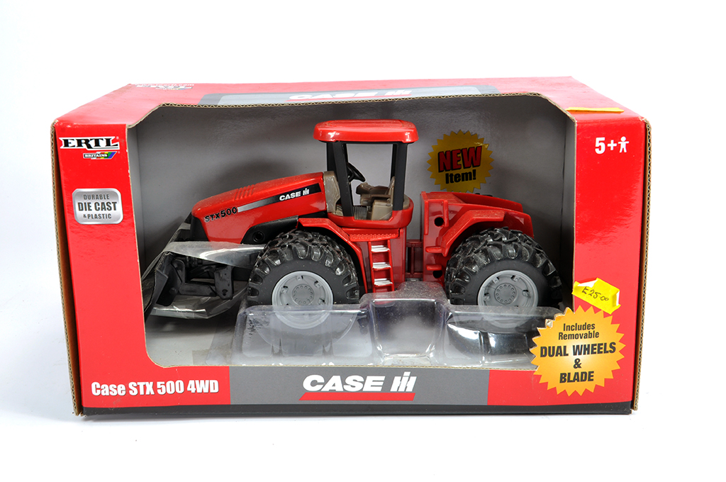 Lot 1 - Ertl Britains 1/50 Case IH STX 500 Tractor. M in Box.