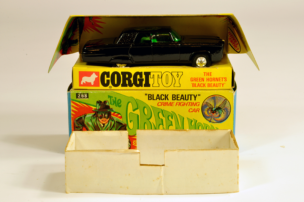 "Lot 40 - Corgi No. 268 The Green Hornet"" - Black Beauty. Beautiful example is NM in E Box."