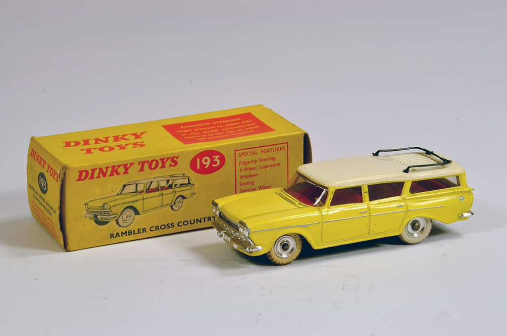 Lot 52 - Dinky No. 193 Rambler Cross Country Station Wagon. E in G Box.