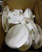 "A box containing an Alfred Meakin ""Cactus"" part dinner service"