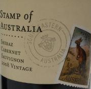 Hardy's Stamp of Australia Shiraz Cabernet Sauvignon 2008 Vintage x 2,