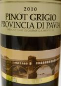 Pinot Grigio Dry Pfalz 2009, 75 cl x 12, together with Pinot Grigio Provincia di Pabia 2010,