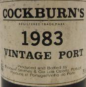 Cockburn's Vintage Port 1983,