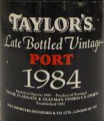 Taylor's Late Bottled Vintage Port 1984,