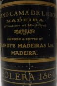 One bottle Blany's Grand Cama de Lobos Solera 1864 Madeira