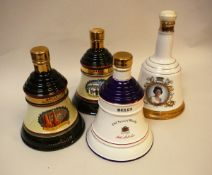 Bell's Old Scotch Whisky including pottery bell-shaped bottle To Commemorate The 60th Birthday of