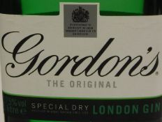 Gordon's Gin x 2, together with one bottle of London Dry Gin, one bottle of Beefeater Dry Gin,
